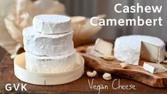 Take a bite of this Vegan Cheese and you'll be amazed that it's not dairy cheese. Not only does it look exactly the same, but it also tastes the same! Beer Recipes, Milk Recipes, Raw Food Recipes, Sin Gluten, Vegan Food Pyramid, Kefir Yogurt, Vegan Cheese Recipes, Cashew Cheese, Vegan Substitutes