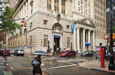Bank Row, Montague Street, Brooklyn Heights, New York