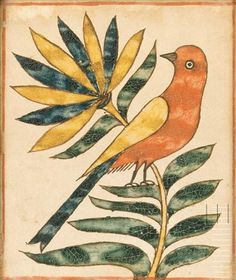 Attributed to THE ROCKHILL TOWNSHIP ARTIST, Bucks County, Pennsylvania, early 19th century Fraktur