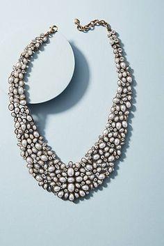 Kew Floral Collar Necklace