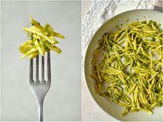 Těstoviny s petrželí, citronem a mandlemi - S vášní pro jídlo...