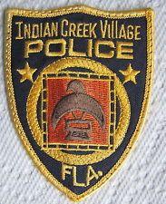 INDIAN CREEK VILLAGE FLORIDA POLICE