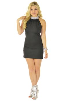 Diamonds Are Forever Black Dress | Sexyback Boutique