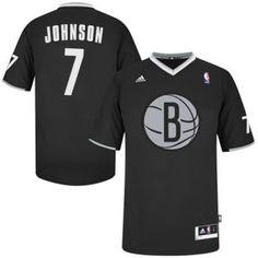 Joe Johnson Swingman In Black Adidas NBA Brooklyn Nets 2013 Christmas Day   7 Men s Jersey dcf7262ff