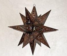 Tin Star Light Pendant