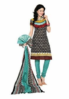 Fabdeal Indian Designer Printed Cotton Black Printed Salwar Kameez Fabdeal Inc, http://www.amazon.fr/dp/B00INWQTAC/ref=cm_sw_r_pi_dp_xOuotb02GBJPP