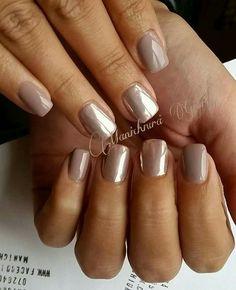 delilah gray mirror nails