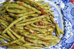 fresh green beans. b. good but not a-mazing.
