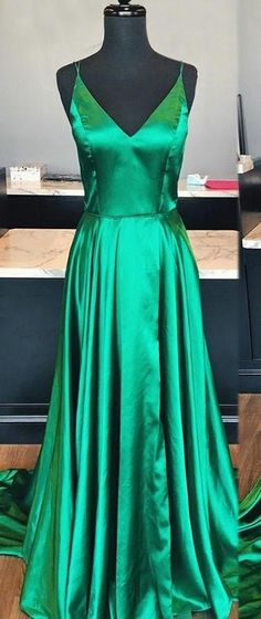 Green Prom Dress Evening Dress ,Winter Formal Dress, Pageant Dan – Promcoming Source by Dresses for dances Prom Dresses For Teens, Pageant Dresses, Dance Dresses, Outfits For Teens, Dresses For Work, Summer Dresses, Dress Prom, Dress Long, Homecoming Dresses