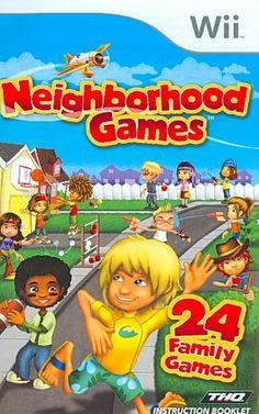 THQ Wii - Neighborhood Games