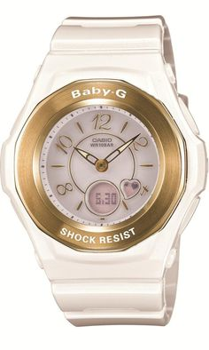 Casio Baby-G Shock Resist Lady's Solar Charged Watch - MULTIBAND 6 - Tripper - BGA-1030-7BJF (Japan Import)