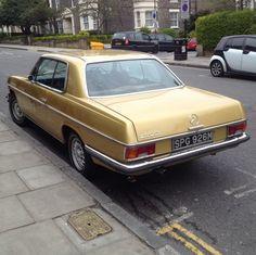 Mercedes 280ce Gold