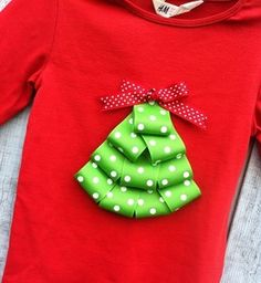 Christmas tree onesie or t-shirt