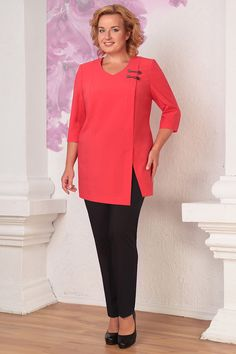 trendy clothes for women over 60 tunics - Outfits Trendy Clothes For Women, Suits For Women, Blouses For Women, Trendy Outfits, Cool Outfits, Women Tunic, Over 60 Fashion, Black Dress Outfits, Mode Hijab