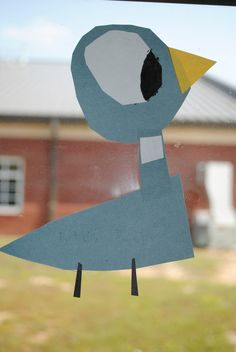 Mo Willems - Pigeon - shapes, paper, paint (First Grader...at Last!)