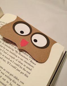 Inspirational Tips, Techniques & Tutorials: Owl Bookmark Or Treat Topper Tutorial