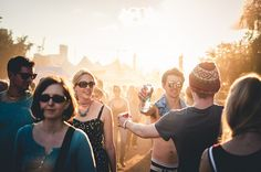 How to go to a festival on your own
