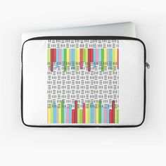 'stay' Laptop Sleeve by Sleeve Designs, Abstract Print, Back To Black, Laptop Case, Laptop Sleeves, Print Design, Printed, Awesome, Stuff To Buy