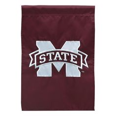 Mississippi State Bulldogs Indoor / Outdoor Garden Flag, Multicolor