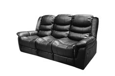 Alan Recliner Bonded Leather 3 Seater (Black) Fluffy Cushions, Smart Box, Sofas, Recliners, Sofa Home, Dust Mites, Bonded Leather, Wooden Frames, Upholstery