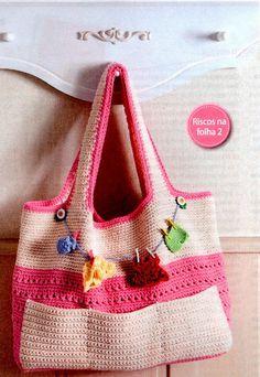 Crochet Baby : Bolsa de crochê!