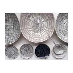 Big bowls, little plates. #Monday #porcelain #markings #Brooklyn