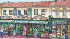 Adrian Sykes The Sweet Mart, Bristol