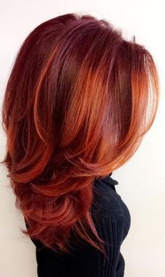 Copper Sunset Hair Color 4236 45 Best Cooper Red Hair Images In 2019 Hair Color Auburn, Red Hair Color, Color Red, Copper Hair Colors, Auburn Hair Copper, Magenta Hair, Color Tones, Ombre Hair, Balayage Hair