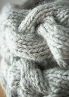 Braided Cable Cowl   The Purl Bee