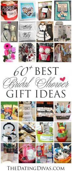 60+ BEST {& Most Creative} Bridal Shower Gift Ideas