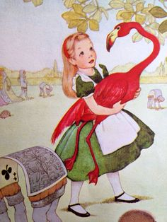 1955 ALICE in WONDERLAND Plays CROQUET by Marjorie Torrey on Etsy, $4.57 AUD