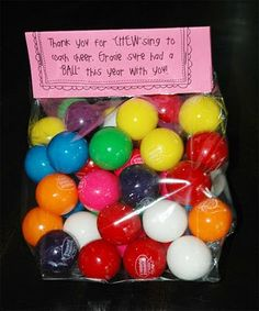 cheer coach gift or could saythank you for chews ing to coach softball