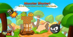 nice Monster Blaster! 2D & 3D Physics Sport Template (Video games)