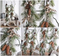 Christmas garlands for photo session , https://www.facebook.com/HandmadeByEncza