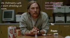 true detective valentine cards