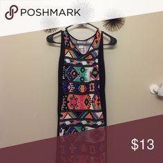 Dress Fitted Aztec print dress 💕 Dresses Midi