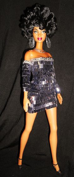 Solid 70's barbie doll