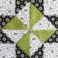 Catavento de triángulos perfeitos (crédito da foto: grandmaspearl)