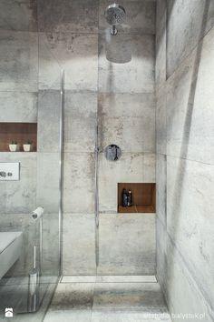naturalnie i trochę surowo...realizacja 2014 - Łazienka, styl minimalistyczny - zdjęcie od Art Studio Pracownia Architektury i Wnetrz