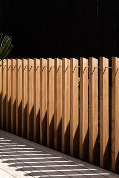 Feature Balustrades - An Architectural Trend - Abodo Wood - DIY ideas - Wood Fence Design, Modern Fence Design, Modern Wood Fence, Balustrade Design, Railing Design, Deck Balustrade Ideas, Wood Railing, Railings, Landscape Design