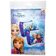 Spring samen met Elsa, Anna en Olaf in het diepe, met deze Disney Frozen Zwembandjes. Speel als Frozen fan vol vertrouwen in het water. De zwembandjes hebben twee luchtkamers per bandje. Geschikt voor kinderen van 15 tot 30 kilo. - Disney Frozen Zwembandjes