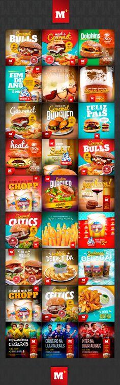 New Meat Shop Design Grocery Store Ideas Web Design, Food Design, Game Design, Store Design, Layout Design, Social Media Bar, Social Media Design, Prospectus, Meat Shop