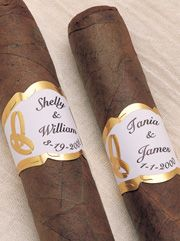 Cigars for the guys on the beach at night
