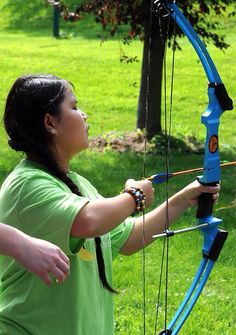 Camp Abilities is great for children with visual impairments!