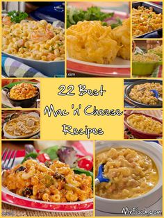 22 Best Mac 'n' Cheese Recipes - Don't keep on making the same boring macaroni from the box when you've got 22 creative macaroni recipes to choose from!