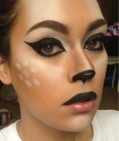 ★ http://lider.znaet.tv ★ Deer makeup | Deer Makeup for Halloween