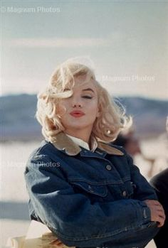 Marilyn Monroe, The Misfits. Photograph by Eve Arnold, 1960.