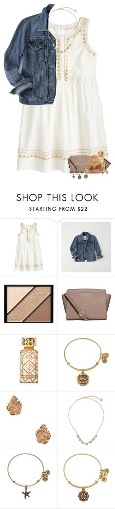 """day four: going to see a broadway play"" by madelinelurene ❤ liked on Polyvore featuring J.Crew, Abercrombie & Fitch, Elizabeth Arden, MICHAEL Michael Kors, Tory Burch, Alex and Ani, Kendra Scott, Jack Rogers and macks2k17summacontest"