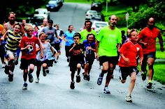 Centennial Fun Run striders.net/races/fun-run For 35 years, members of the Howard County Striders running club have organized a one-mile run through the Centennial neighborhood for families on most Tuesday evenings in June, July and August.
