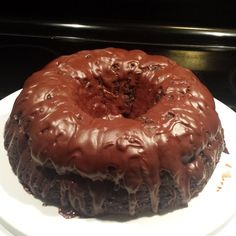 """Chocolate Pudding Fudge Cake 
